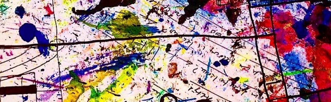 kleurrijke illustratie bij een verhaal over ons